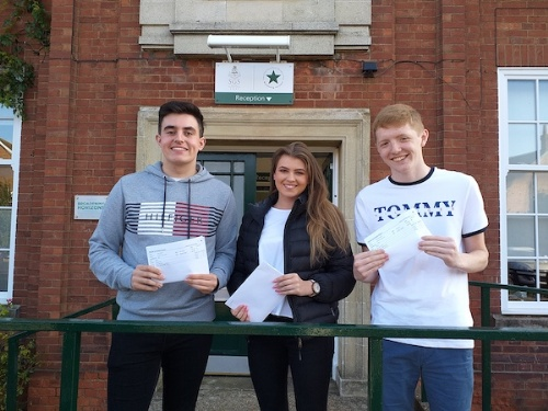 A LEVELS: Skegness Grammar School celebrates success on A LEVEL results day