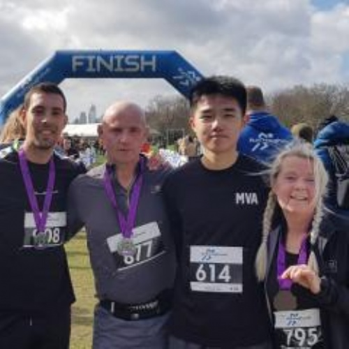 Student Half Marathon Success